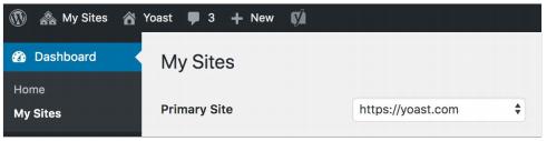 многосайтовая установка WordPress