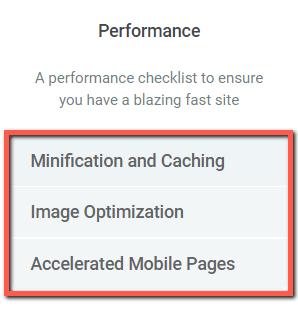 Панель скорости сайта»