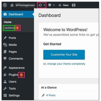 Обновления в WordPress